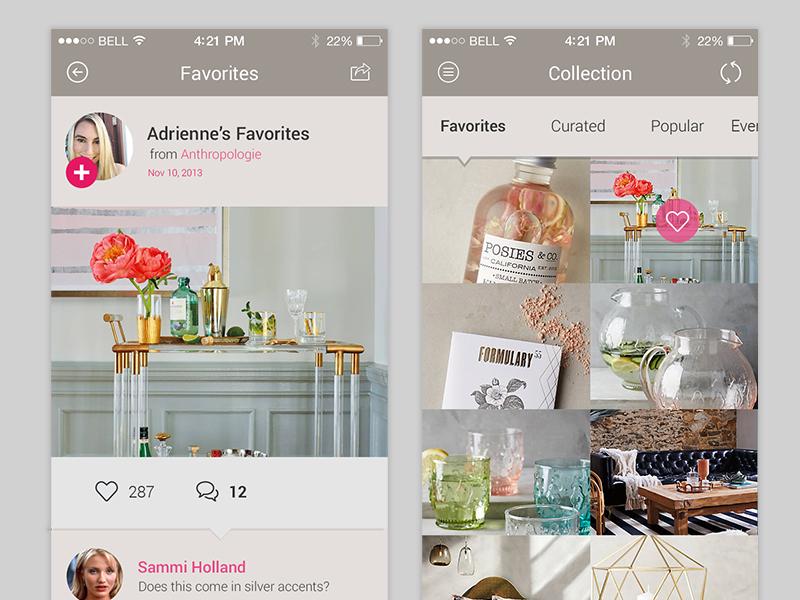 Pinterest Client App
