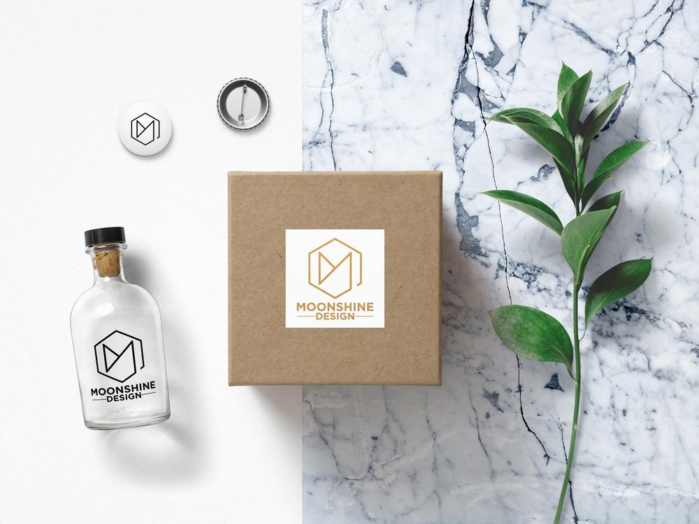 Moonshine Design Branding and New Logo