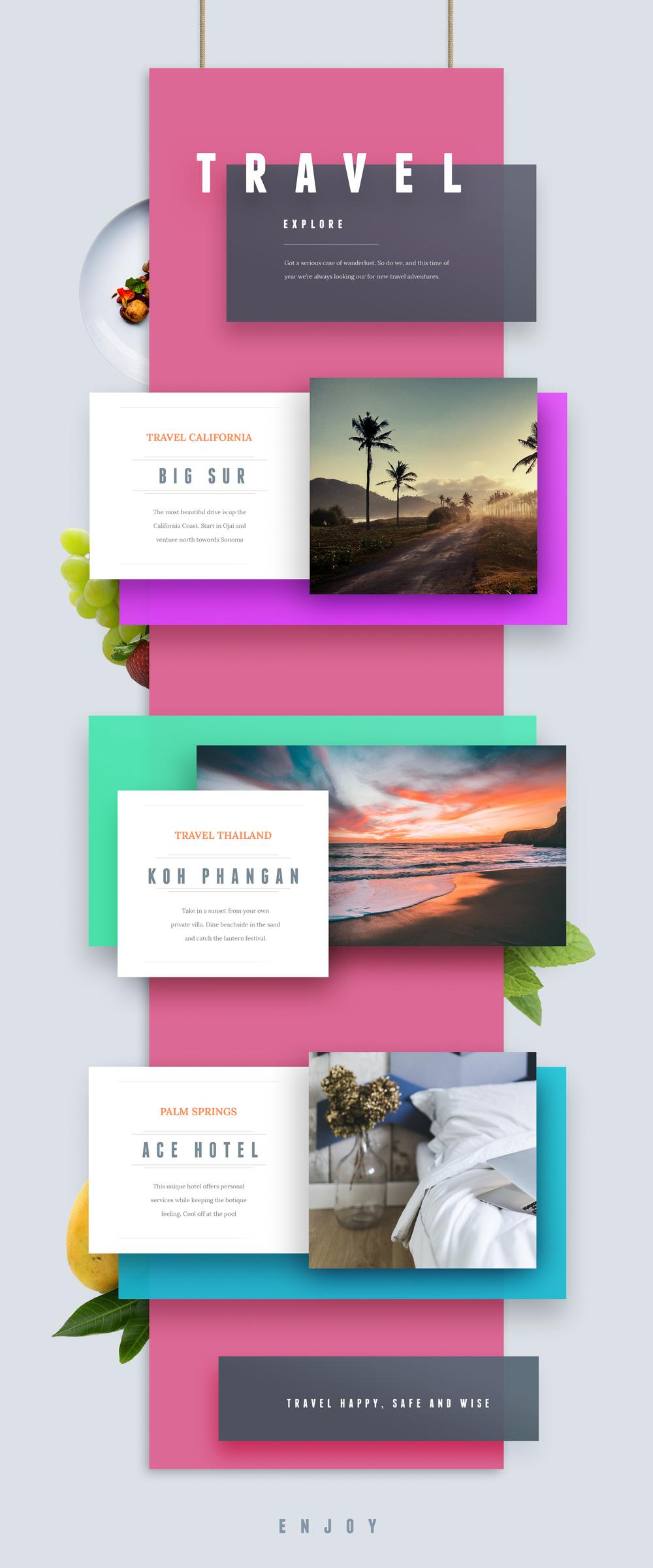 Travel Adventure Cards