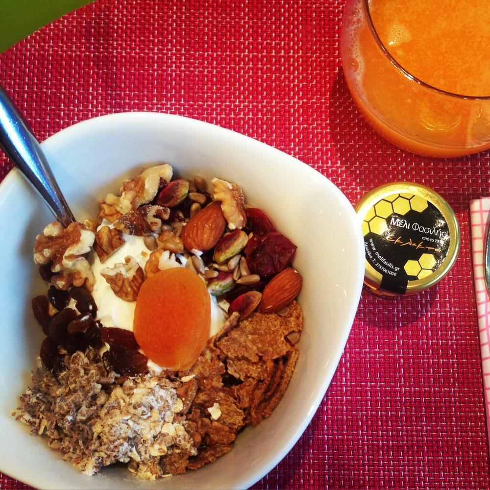 Semiramis hotel breakfast
