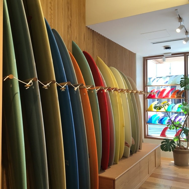 Pilgrim surf+supply surfboards