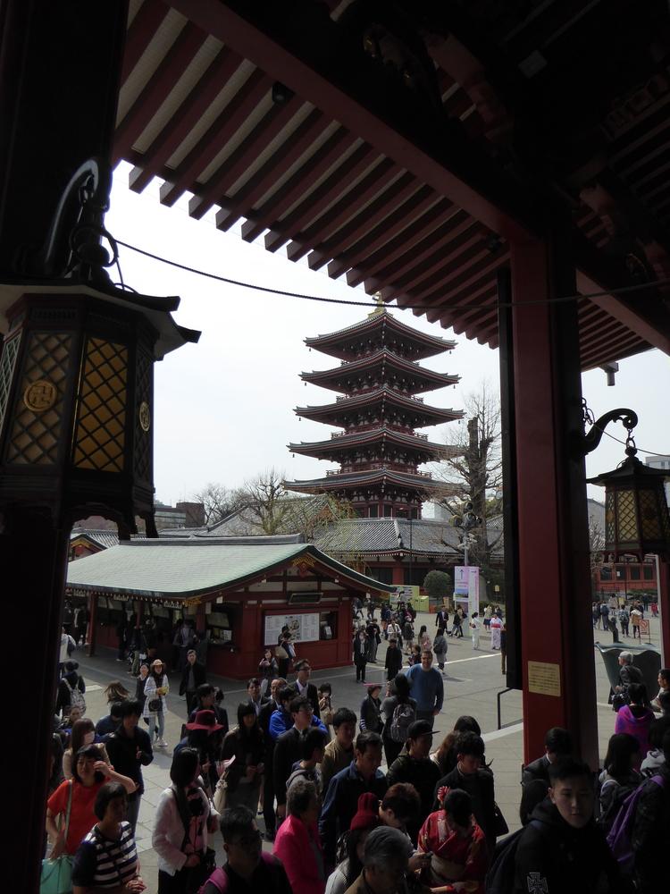 Pagoda at Sensoji-Temple