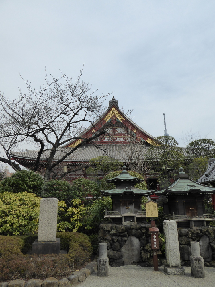 Surroundings at Sensoji-Temple