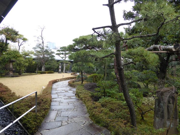The gardens at Nezu Museum