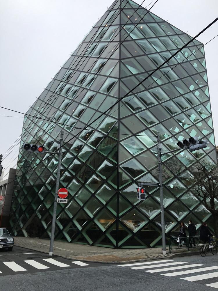 The Prada Flagship store