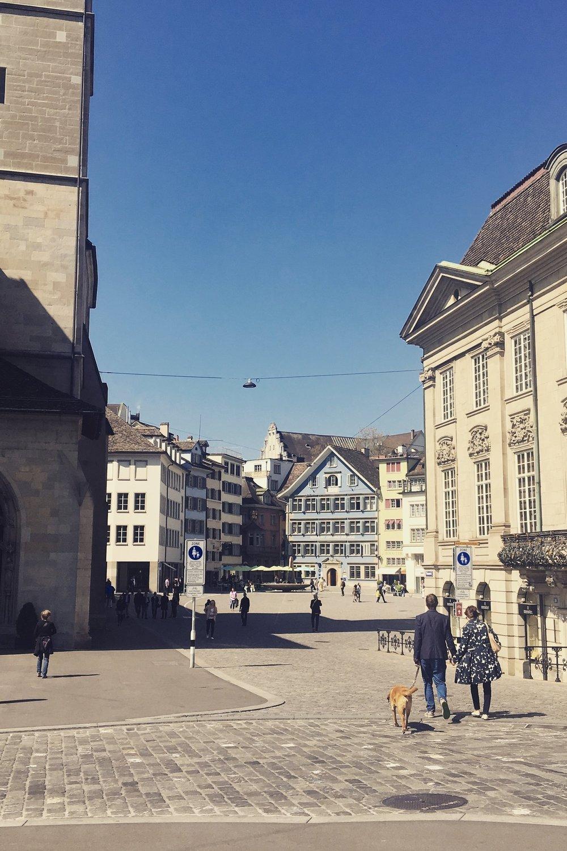 Zurich city walks