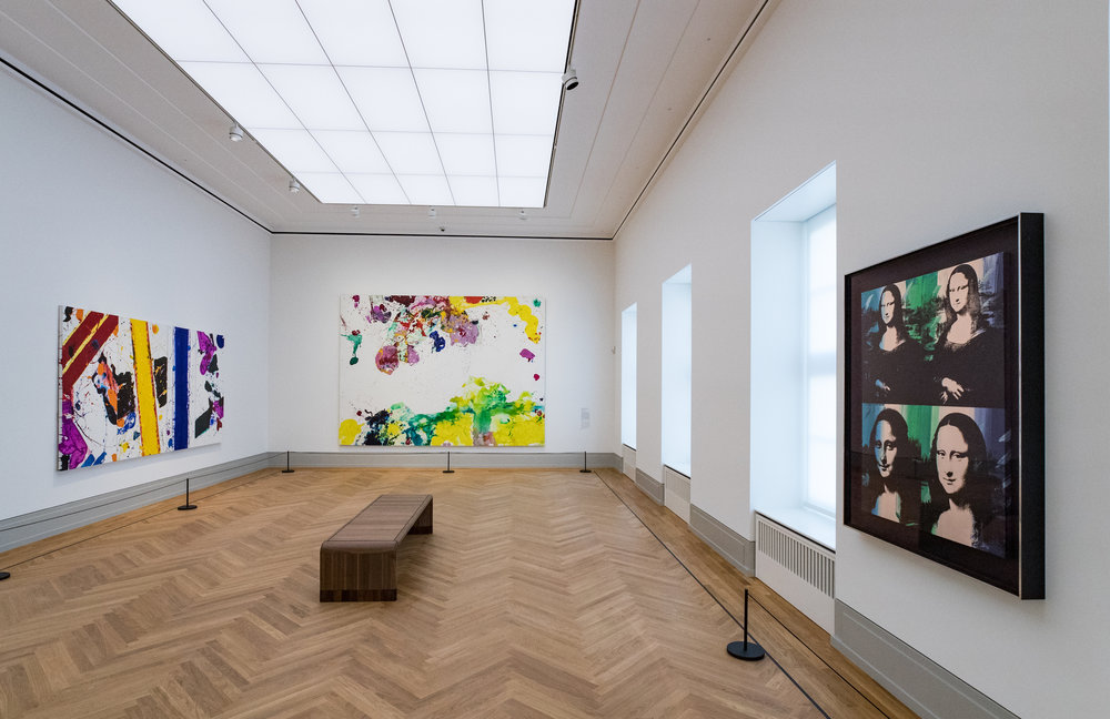 "Exhibition view ""Modern Art Classics"", Museum Barberini, Photo: Helge Mundt, © Museum Barberini"