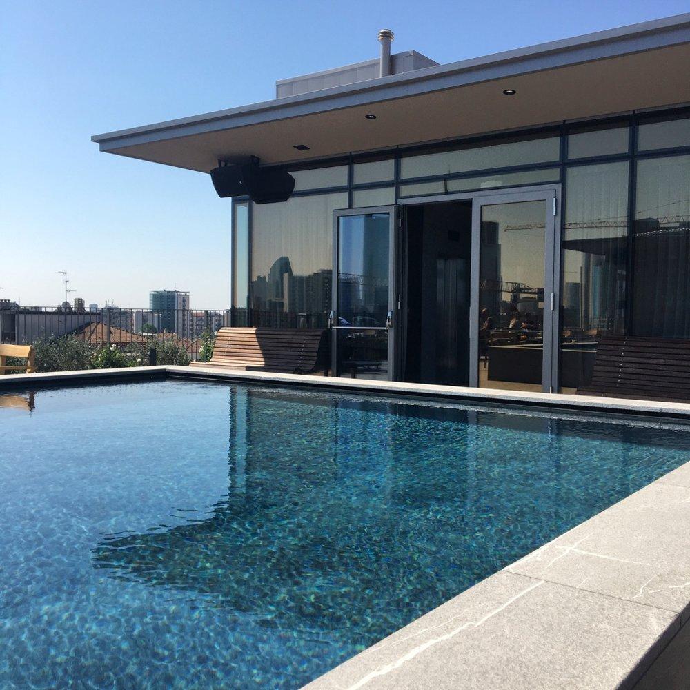 Rooftop Pool Hotel Viu Milan