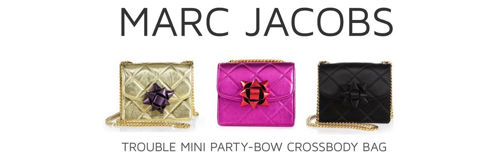 Style Fragment Marc Jacobs Trouble Mini Party-Bow Quilted-Satin Crossbody Bag
