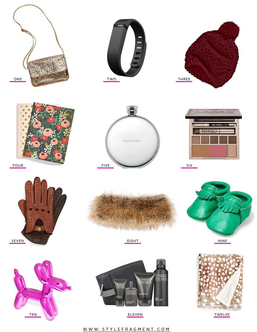 Style Fragment LAST MINUTE AMAZEMENT Gift Guide