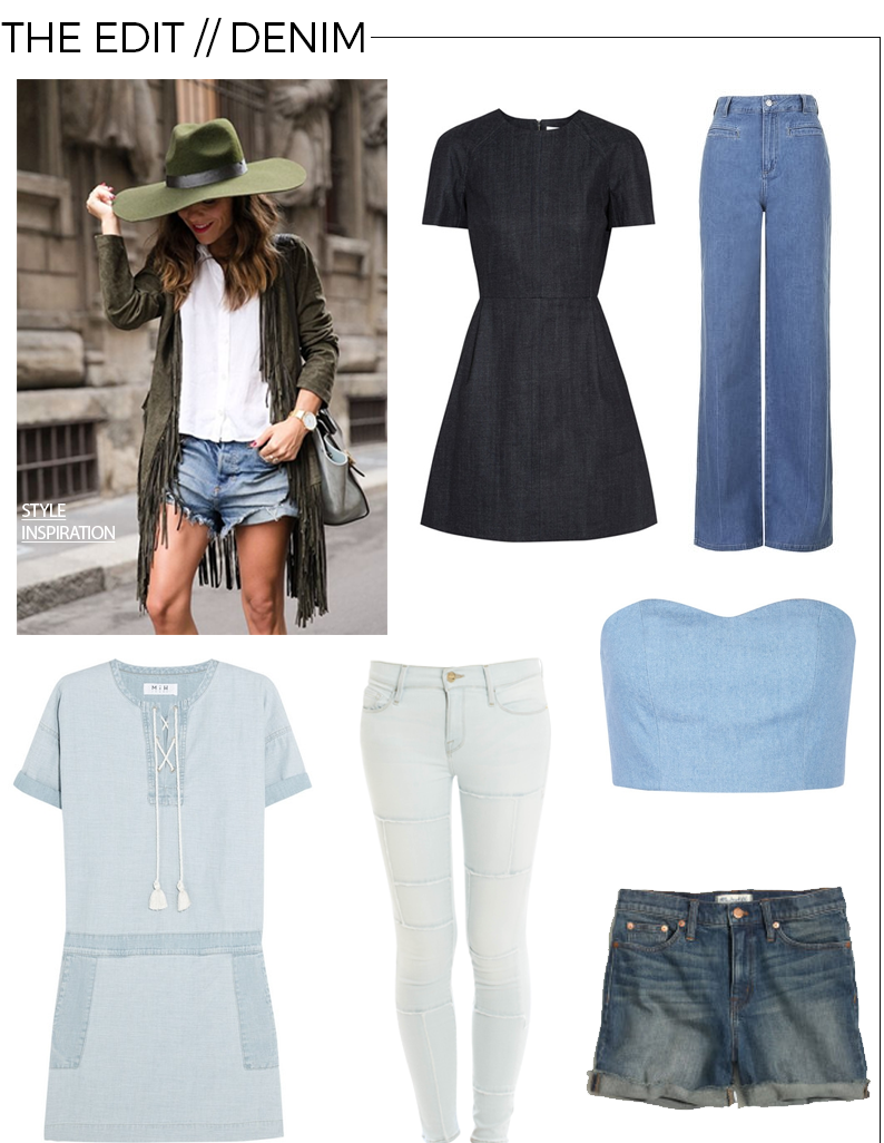 Style Fragment The Edit Denim, Gap, Topshop, Shopbop, Net-a-Porter, Tibi, Madewell, J.Crew