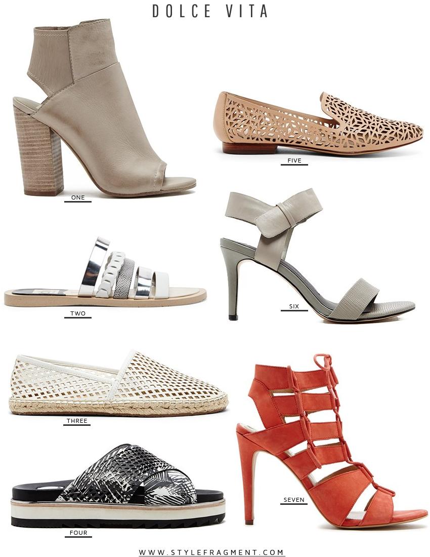 Style Fragment Dolce Vita, heels, flats, sandals