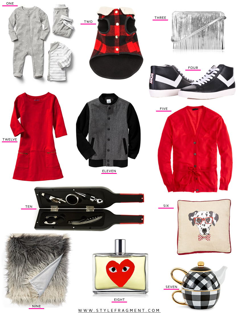 Style Fragment 12 under $120 Gift Guide Nordstrom, Gap, Old Navy, C. Wonder, Sephora, Pony, J.Crew