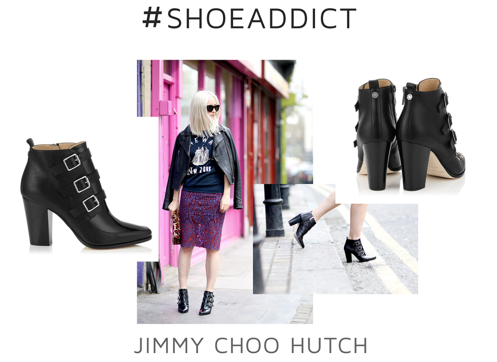 Style Fragment | #shoeADDICT | Jimmy Choo Hutch Ankle Boots