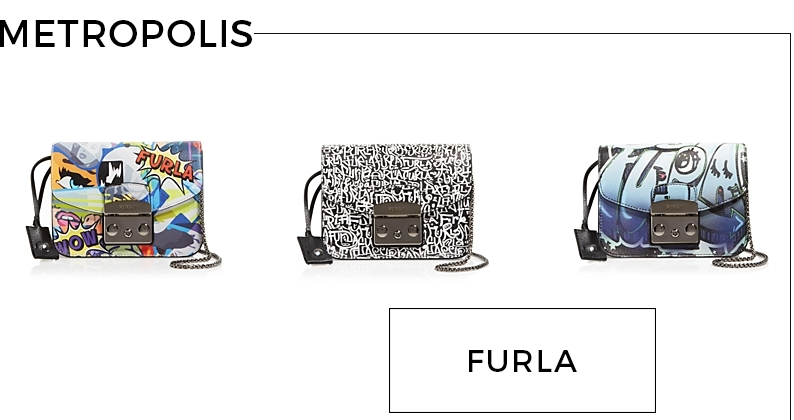 Style Fragment Furla Metropolis Crossbody Pop Art