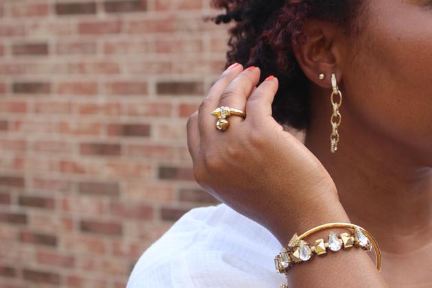 rachel roy earrings club monaco bracelet j.crew bracelet