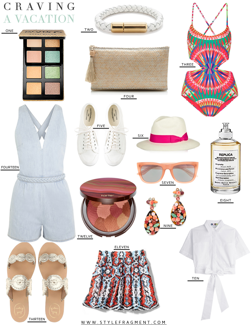Style Fragment A Vacation, Swimwear, J.Crew, Net A Porter, Eyeshadow, Replica, Jack Rigers