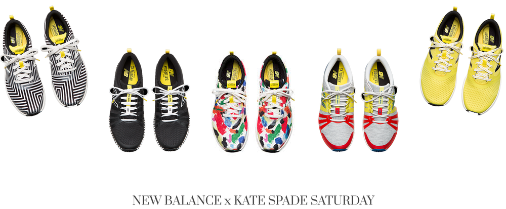 Style Fragment Kate Spade Saturday x New Balance Sneakers, colorful, fun