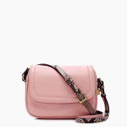SIGNET FLAP BAG WITH PRINTED STRAP IN ITALIAN LEATHER.jpg