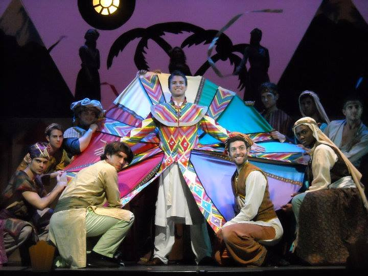 Joseph and the Amazing Technicolor Dreamcoat, West Virginia Public Theater, Morgantown