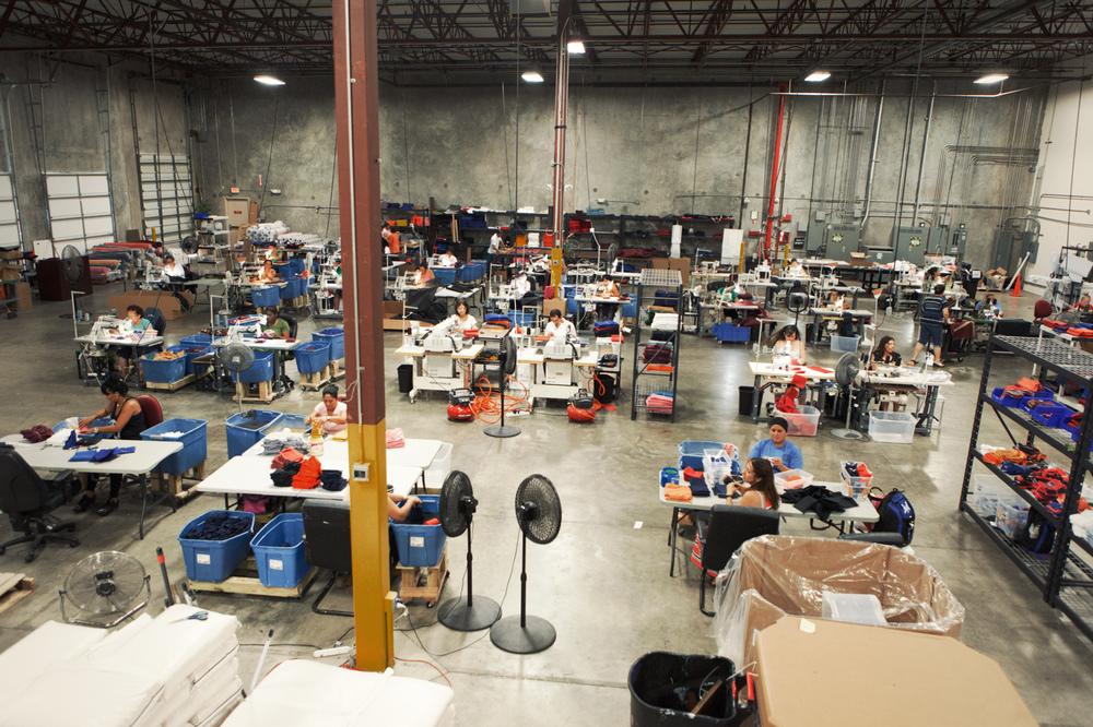 Sewing Factory Floor