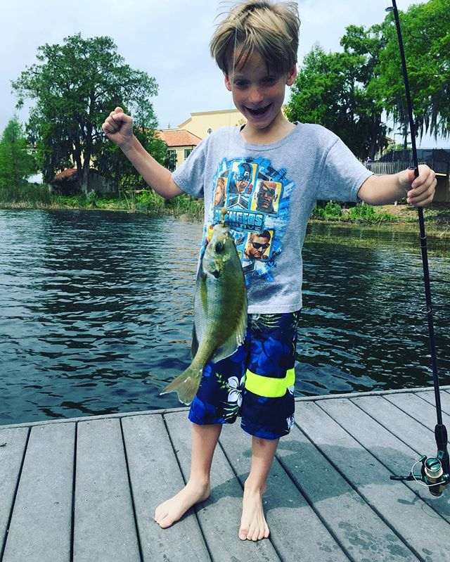 #EpicDaddyDay #Fishing #Panfish #Fish #WinterPark #LittleBoy #Awesome #Epic #LittleKidsFirstFish #family