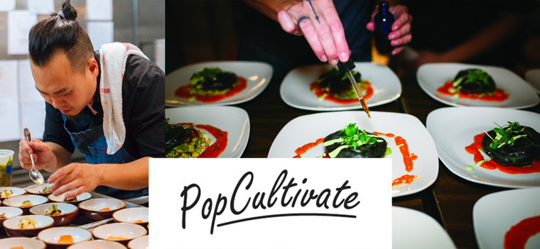PopCultivate will be taste testing some new infused appetizers for upcoming dinner events.