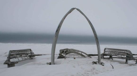 Whale_bone_rib_arc_and_skin_boat_frames_at_barrow_Alaska.jpg