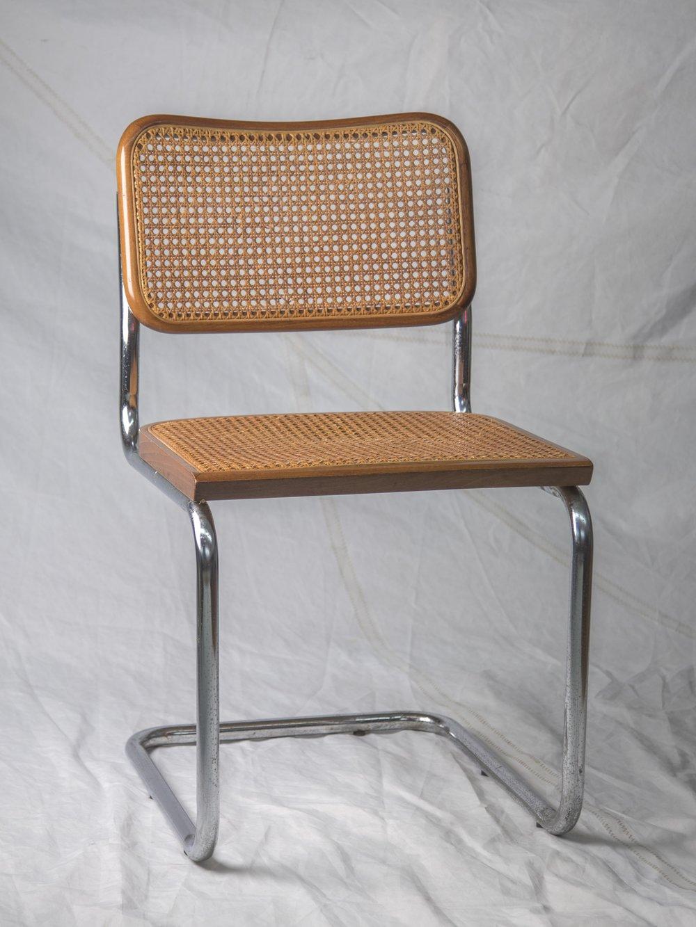 CH059, CH060 Marcel Breuer Cesca Chair  $125/week each, set of 2