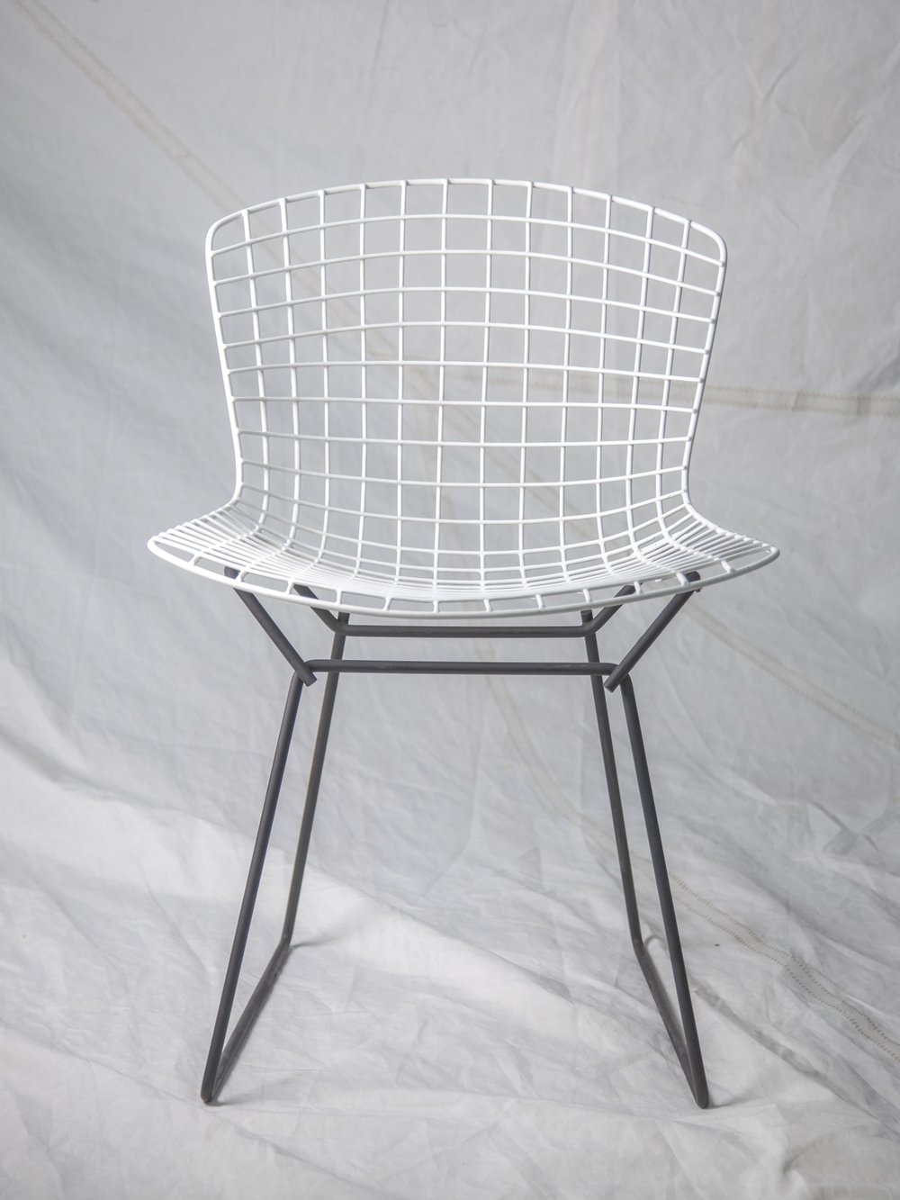 "CH065 - CH068 Bertoia Vintage side chair 29"" H x 21"" W x 22"" D $150/week each Set of 4"