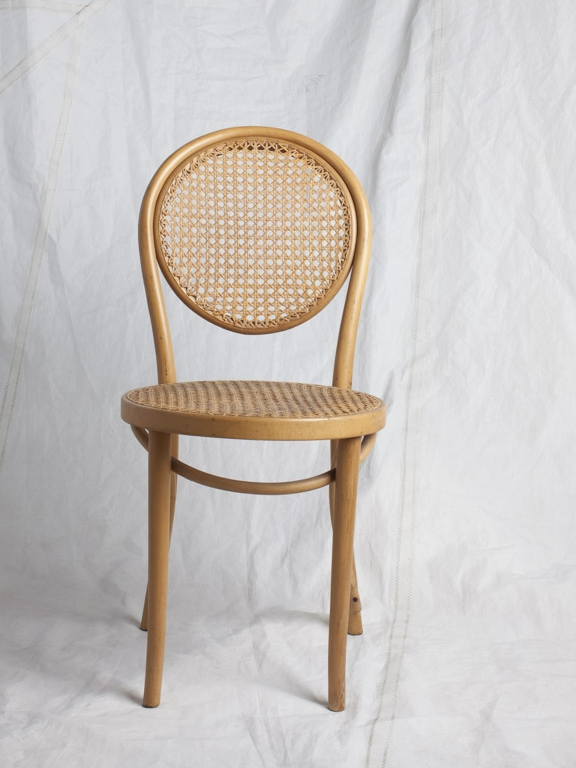 "CH082, CH083 Thonet ZPM Radomsko Bentwood 34.5"" H x 16"" W x 16"" D $125/week each Set of 2"