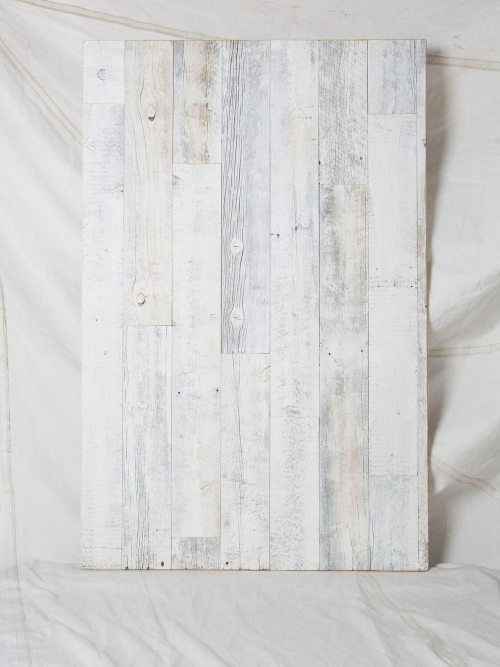 "CW008  Reclaimed, Weathered Barn | White Washed 36"" x 54""  $300/week"