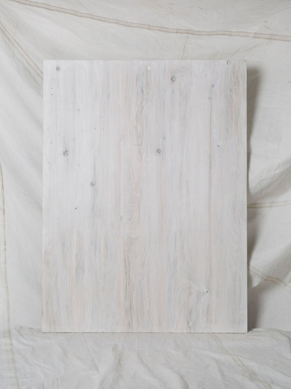 "CW009  Reclaimed Oak | White Washed 36"" x 48""  $275/week"