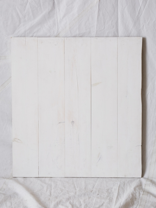 "PW344  White Washed Cedar Planks 33.25"" x 36.5""  $150/week"
