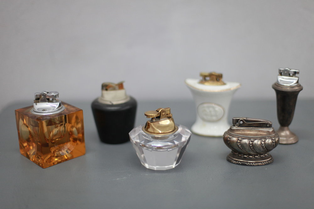 TABLE LIGHTERS...
