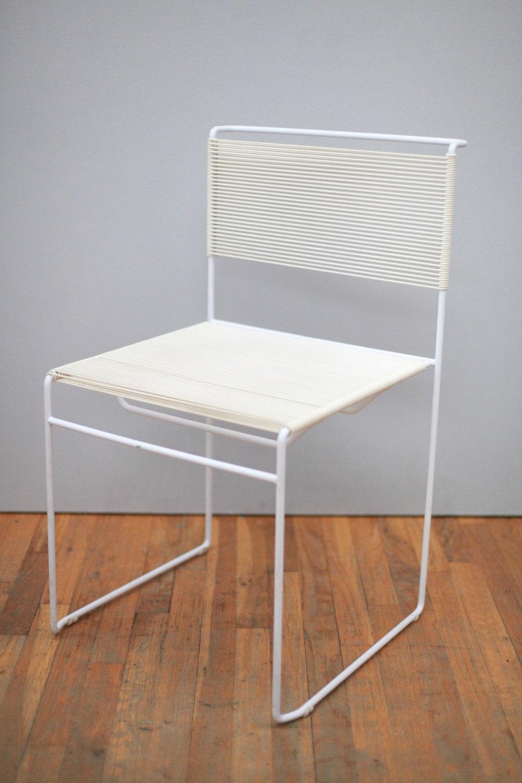 CH080  Giandomenico Belotti   Flying Spaghetti Chair  1970. Italy.  $200