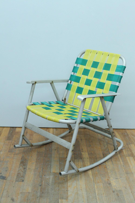 Rocking Vintage lawn chair