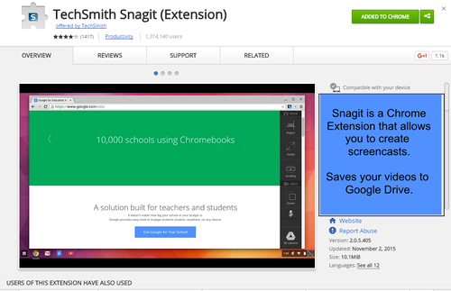 https://chrome.google.com/webstore/detail/techsmith-snagit-extensio/annopcfmbiofommjmcmcfmhklhgbhkce