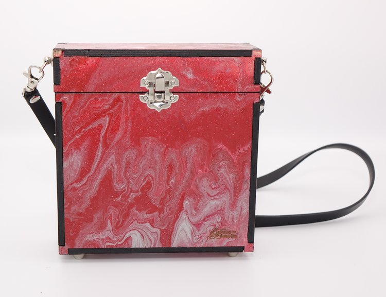 02ec672c39 Red and Silver Blossom - Valentine Collection — Bags To Butterflies