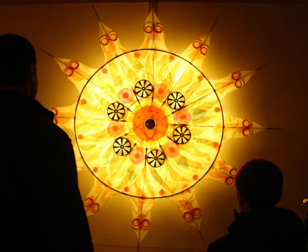 Sun Wheel by Glen Andersen