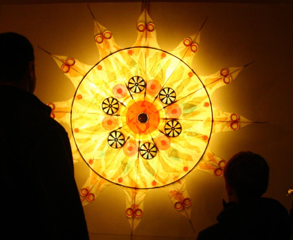 Sun Wheel by Glen Andersen
