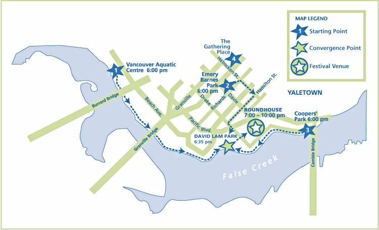 Yaletown map