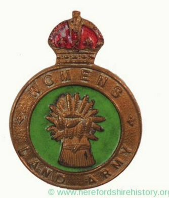Womens Land Army Badge (Courtesy of Herefordshire History. org. uk).PNG