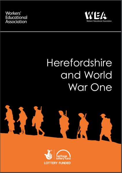 Herefordshire and World War One publication