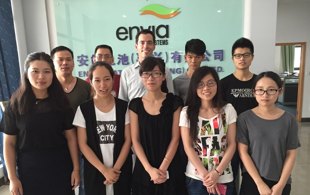 ENVIA SYSTEMS, JIAXING, CHINA