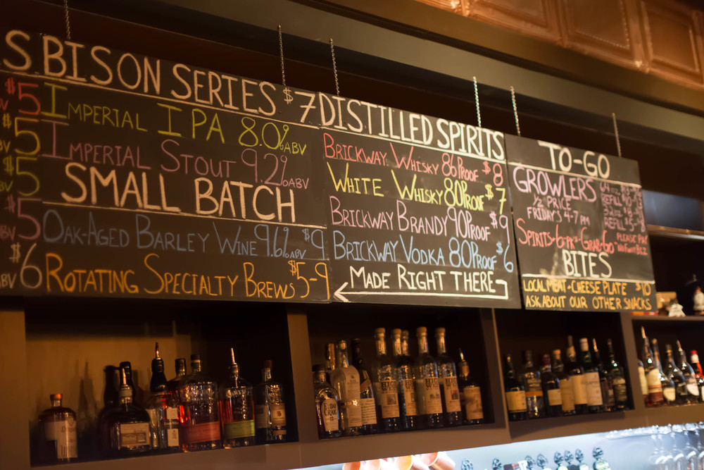 16 rotating taps at the Brickway tasting room in the Old Market, including seasonal small batch varieties. On tap at 100+ locations in Omaha and Lincoln.