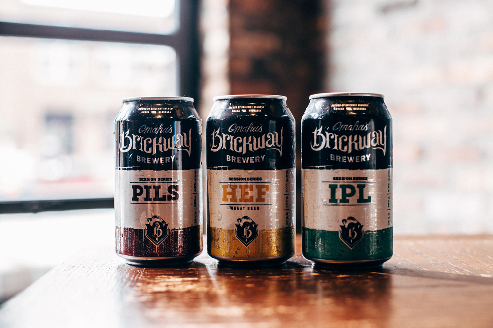 Pilsner, Hefeweizen, IPL available in cans—all made with premium ingredients and zero adjuncts.