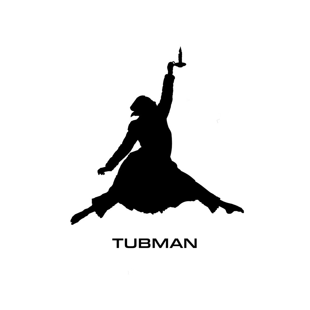 This image was solely designed and created by Kon Boogie for one woman show, TUBMAN, written by Lacresha Berry.
