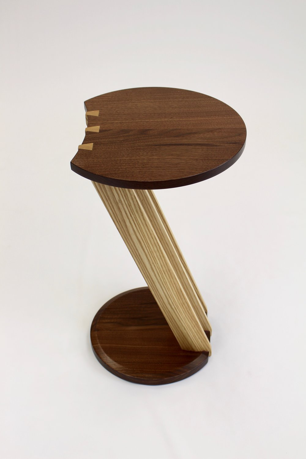 Dovetail End Table Produced in Collaboration with WE Living