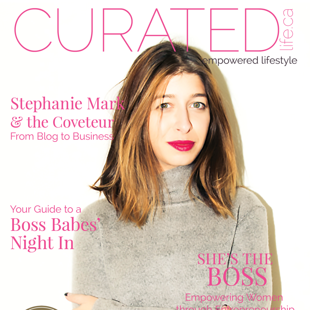 On the Cover: Stephanie Mark / @coveteur